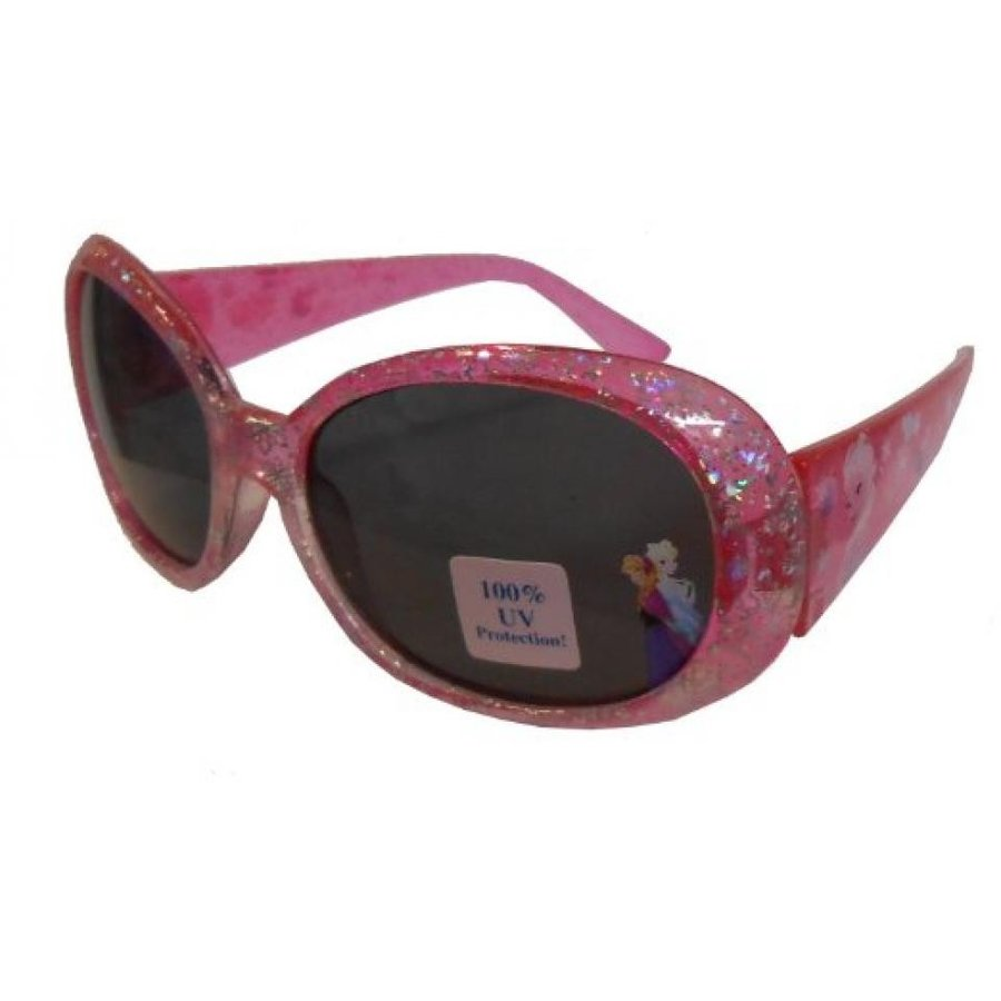 アナと雪の女王 おもちゃ フィギュア Disney Frozen Hot ピンク with Shimmery Snowflakes Elsa and Anna Girls Sunglasses 輸入品