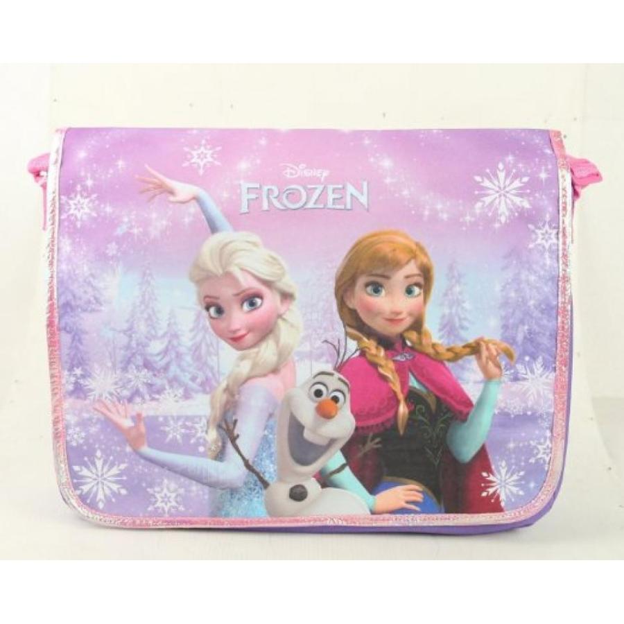 アナと雪の女王 おもちゃ フィギュア Messenger Bag - Disney - Frozen Elsa & Anna Princess with ピンク Strap 輸入品