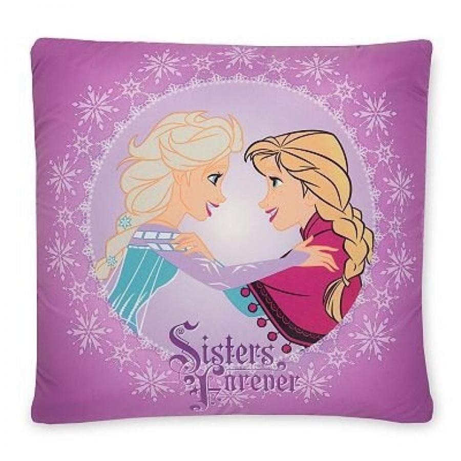 アナと雪の女王 おもちゃ フィギュア Disney Frozen Anna & Elsa Sisters Forever Memory Foam Pillow - 18