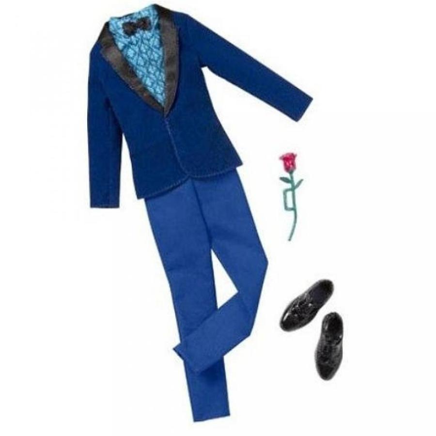 バービー人形 おもちゃ 着せ替え Barbie Fashion Clothing for Ken 青 Evening Jacket and Navy Pants 輸入品