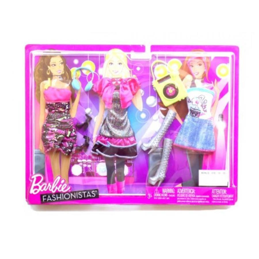 バービー人形 着せ替え おもちゃ Barbie Doll Dress Set Barbie Fashionista Dress up Set 輸入品