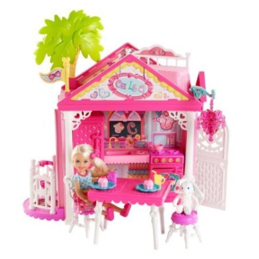 バービー人形 おもちゃ 着せ替え Barbie Chelsea Doll and Clubhouse Playset 輸入品