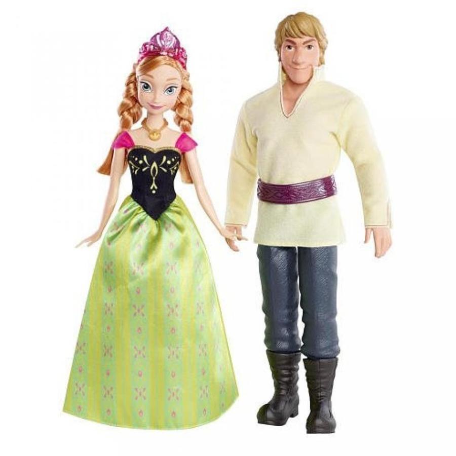 アナと雪の女王 おもちゃ フィギュア Disney Frozen Anna of Ardendelle and Kristoff 2Pack 輸入品