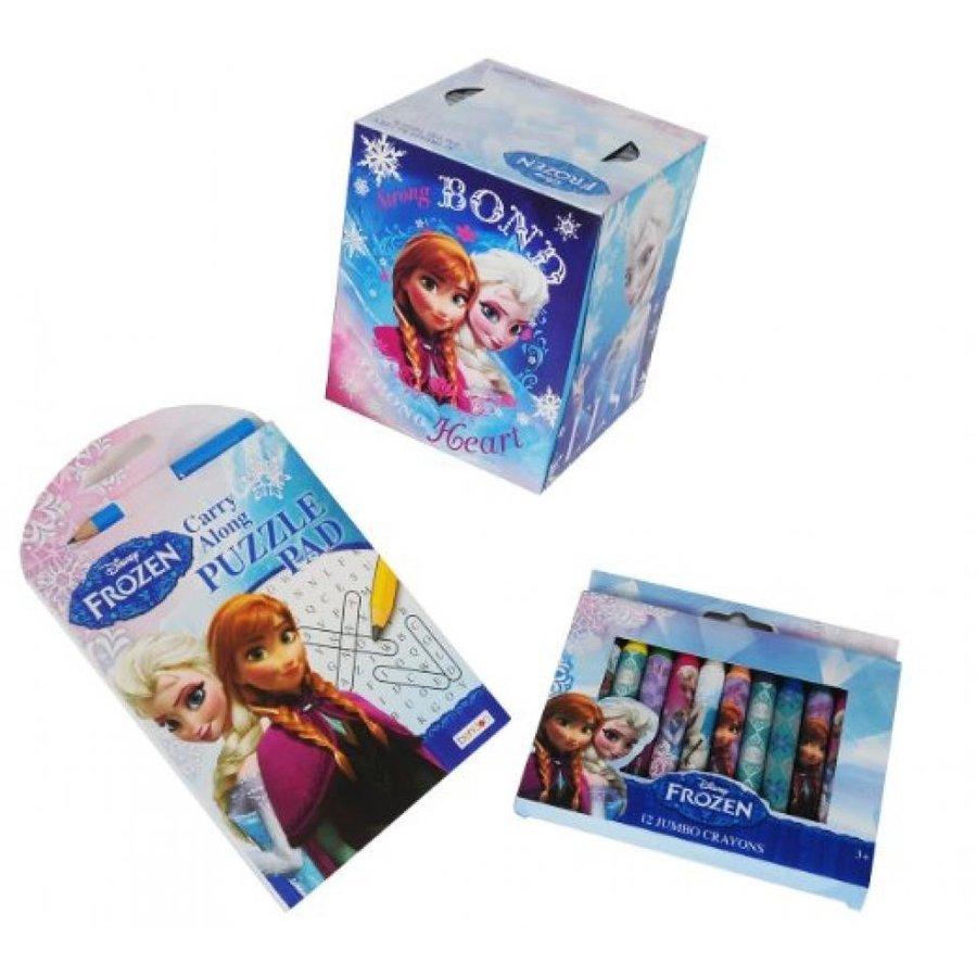 アナと雪の女王 おもちゃ フィギュア Bundle of Disney's Frozen Sniffle-activities. Crayons, W