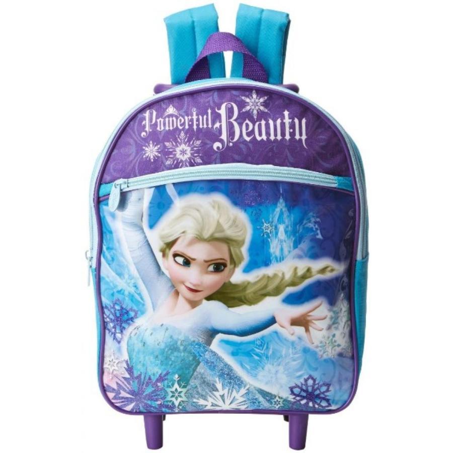 アナと雪の女王 おもちゃ フィギュア Disney Girl's Frozen Elsa Rolling Backpack 輸入品