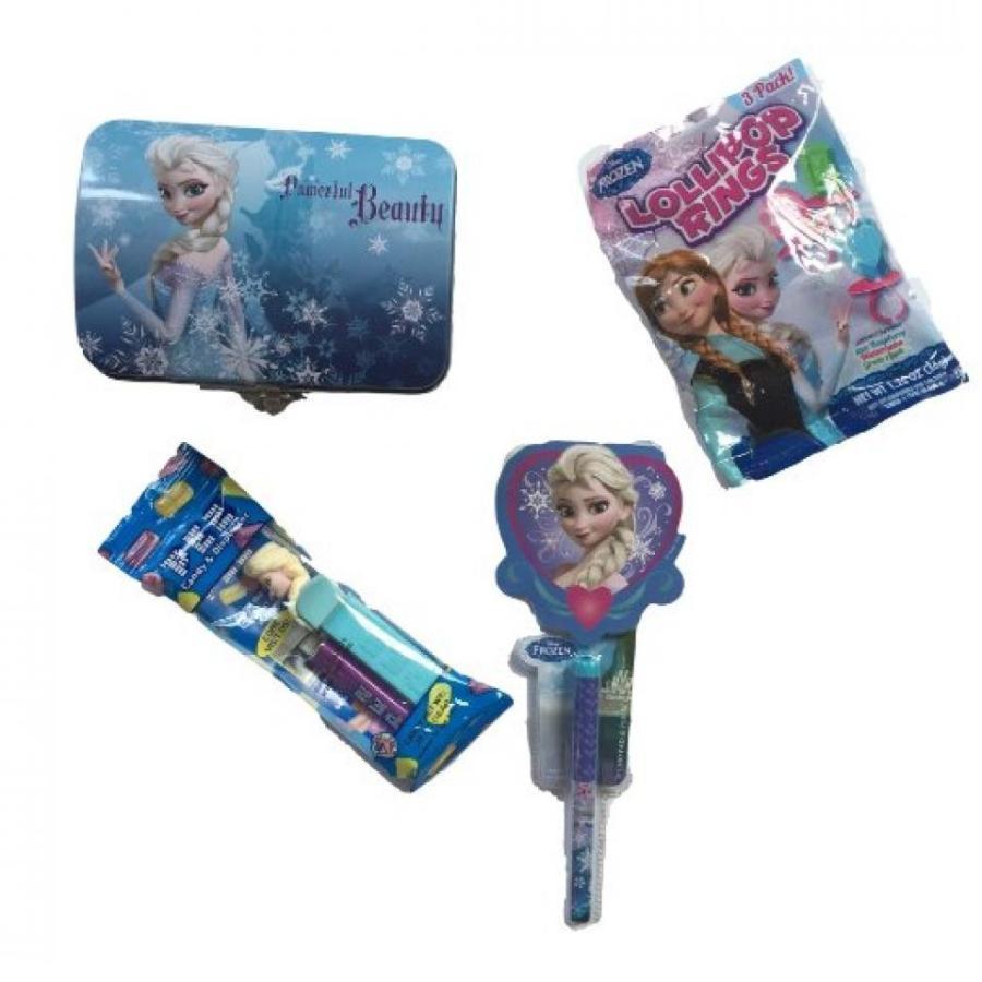 アナと雪の女王 おもちゃ フィギュア Frozen Tin Box W/lock and Key Pen and Memo Pad Elsa Pez