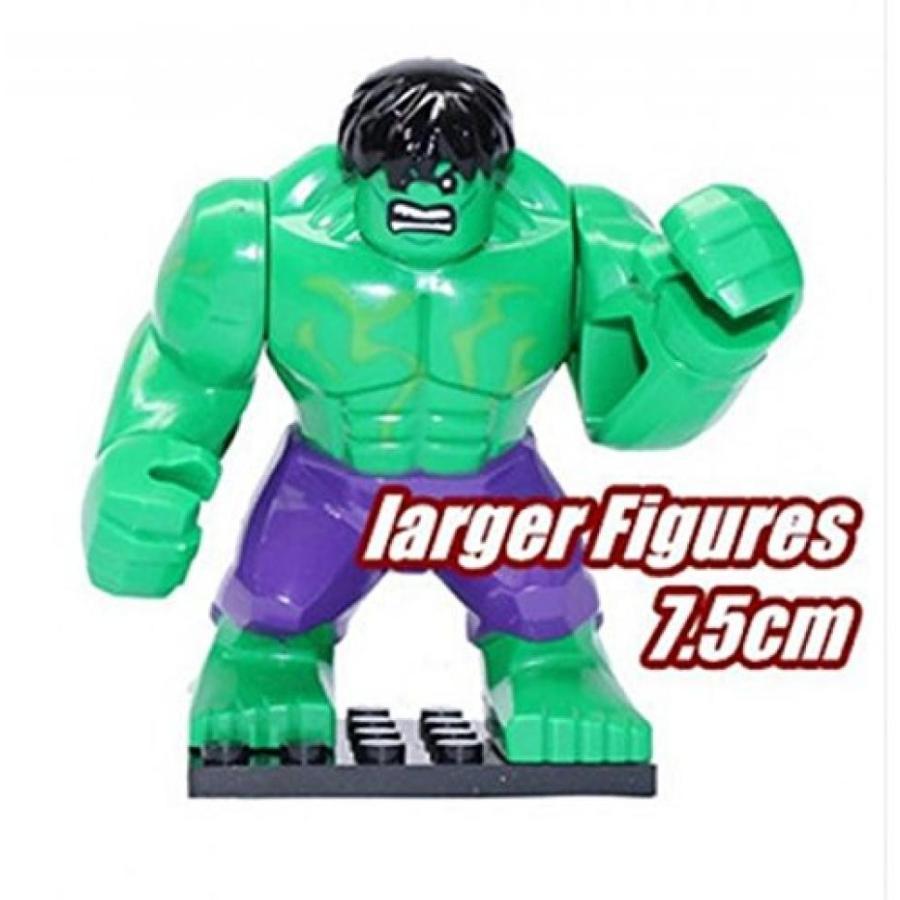 アベンジャーズ おもちゃ フィギュア Super Heroes the Avengers Hulk Mini action figures 7.5 cm. 輸入品