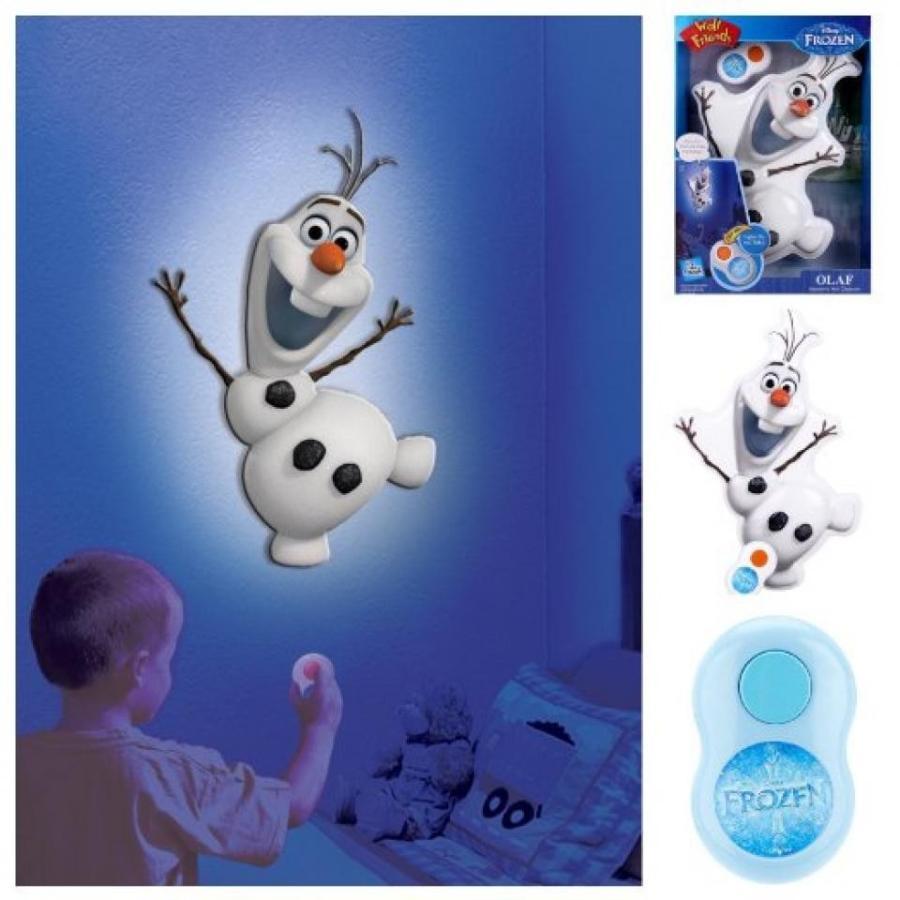 アナと雪の女王 おもちゃ フィギュア Disney Frozen Olaf Talking Wall Night Light with Remote - 13