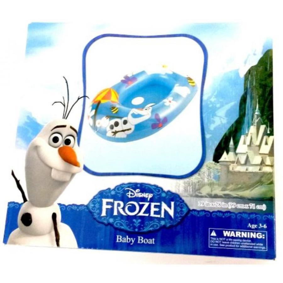 アナと雪の女王 おもちゃ フィギュア Disney Frozen Olaf Inflatable Kids Float Baby Boat Age 3 - 6 輸入品