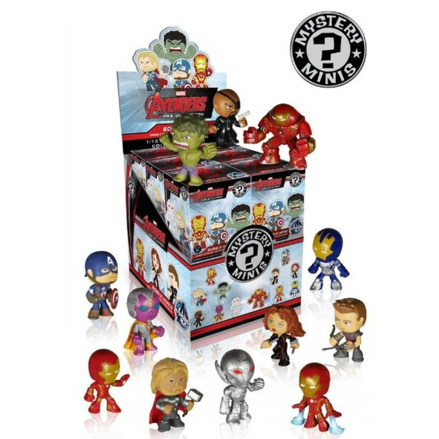 アベンジャーズ おもちゃ フィギュア Funko Avengers Age of Ultron Mystery Mini Blind Boxes (Pack of 4) 輸入品