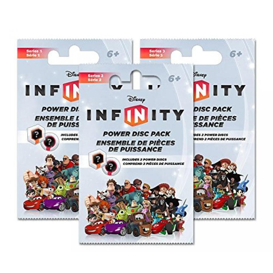 アナと雪の女王 おもちゃ フィギュア Disney Infinity Power Disc Packs - 3 Pack Bundle (One Each of Series 1, 2 & 3) 輸入品