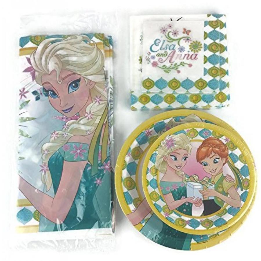 アナと雪の女王 おもちゃ フィギュア Disney Frozen Fever Elsa & Anna Olaf Deluxe Party Kit fo
