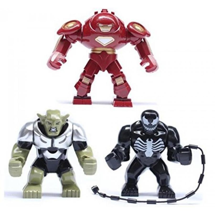 アベンジャーズ おもちゃ フィギュア Decool Super Heroes Avengers Hulk Buster Venom 緑 Gob
