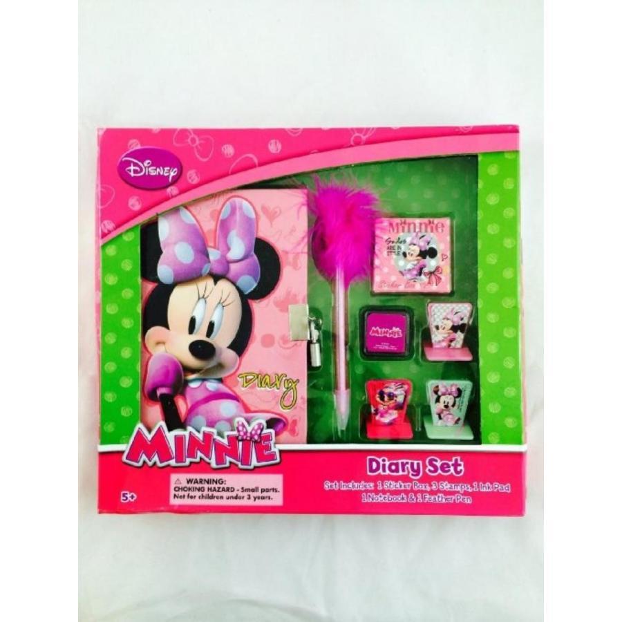 アナと雪の女王 おもちゃ フィギュア Disney Minnie Mouse Diary Set 輸入品