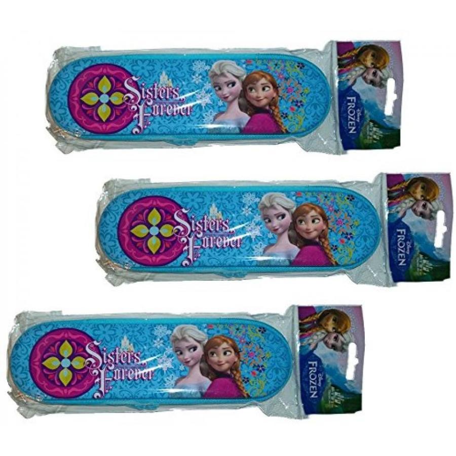 アナと雪の女王 おもちゃ フィギュア Disney Frozen Sisters Forever Pencil Case for You, Your Sister and a Friend. 輸入品