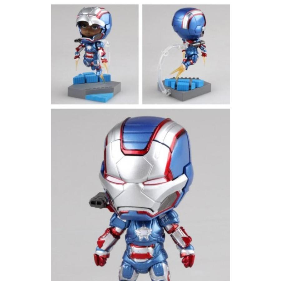 アベンジャーズ おもちゃ フィギュア Iron Man Mark 7 Nendoroid Series Avengers Action Armor Set Figure (Size 6 輸入品