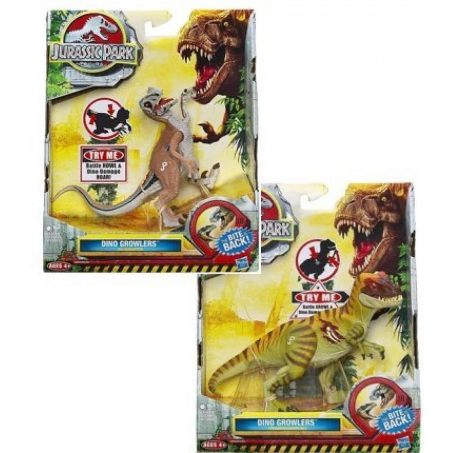 ジュラシックワールド おもちゃ フィギュア 恐竜 Jurassic Park Dino Growlers Twin-pack. T-REX Figur
