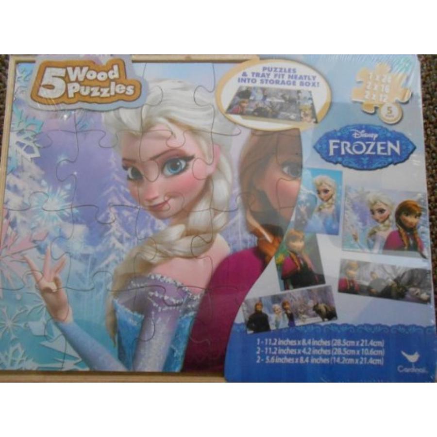 アナと雪の女王 おもちゃ フィギュア Disneys Frozen Anna & Elsa Characters 5 Pack Puzzle Set