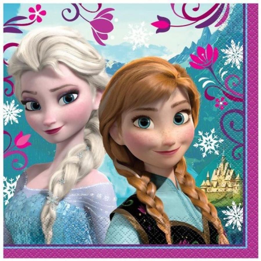 アナと雪の女王 おもちゃ フィギュア Disney Frozen Luncheon Napkins (32 Count) 輸入品