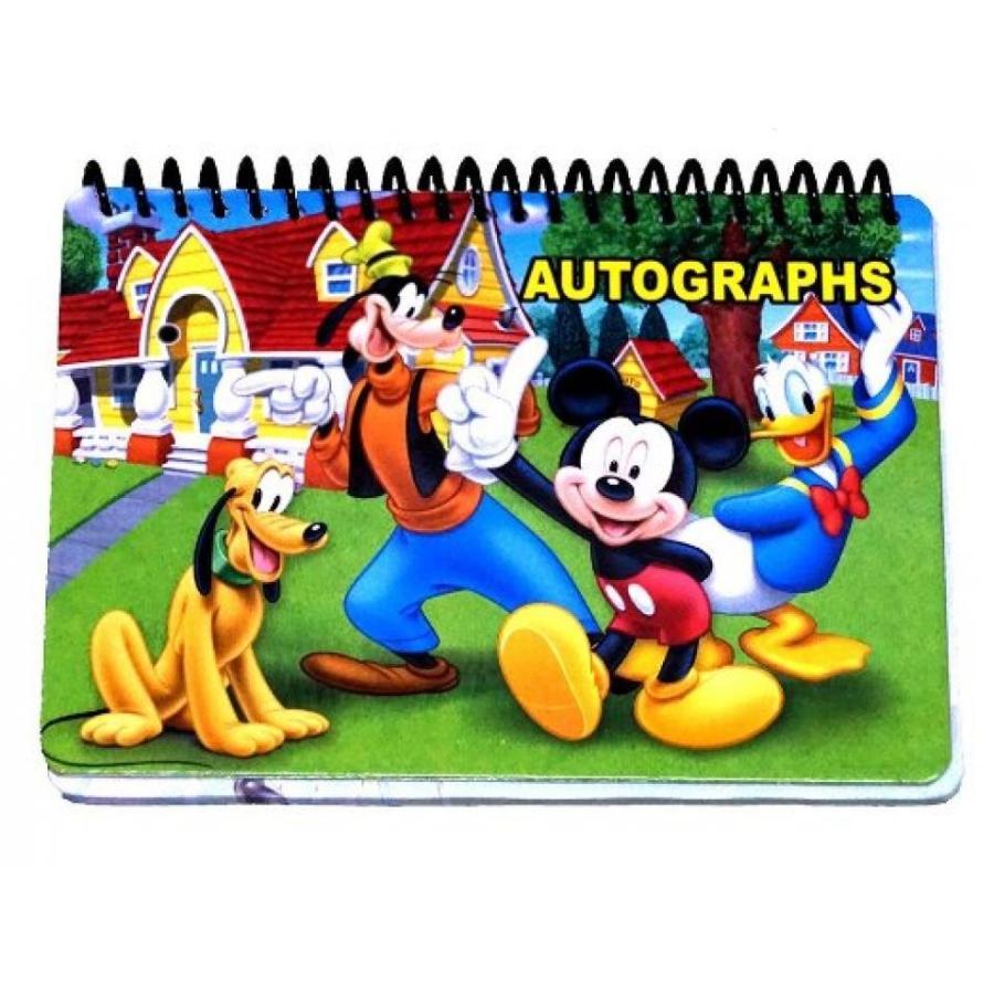 アナと雪の女王 おもちゃ フィギュア Disney Mickey and the Gang Autograph Book 輸入品