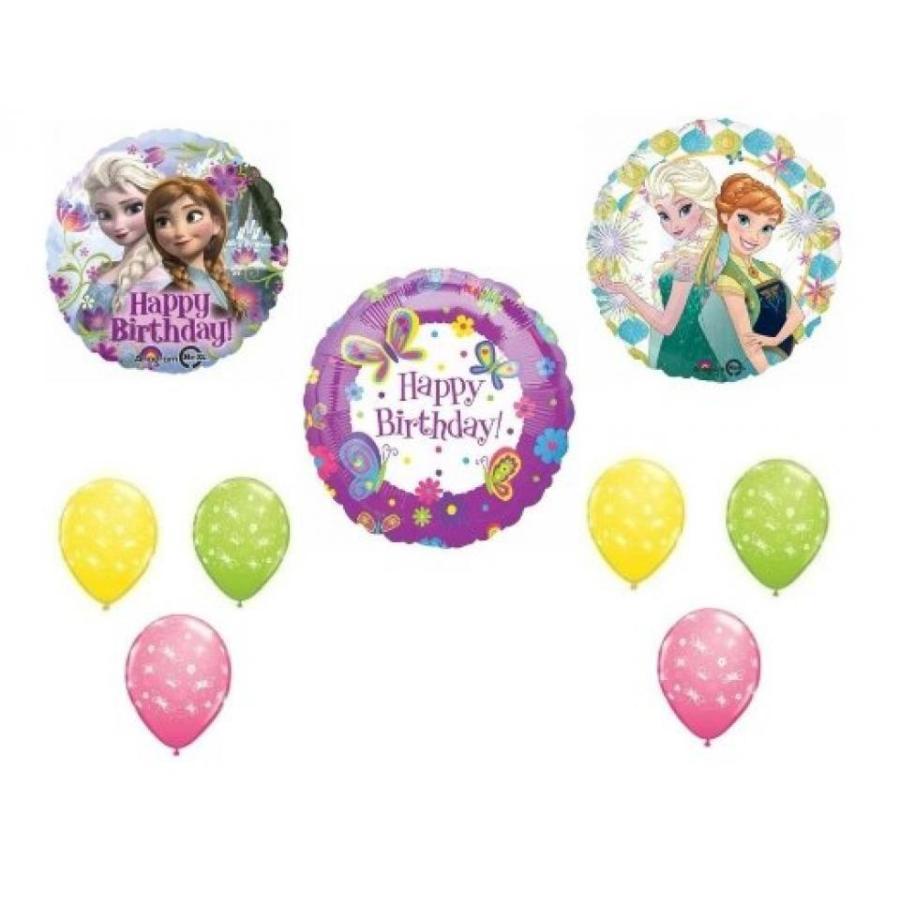 アナと雪の女王 おもちゃ フィギュア Frozen Fever Happy Birthday Decorations Kit 輸入品