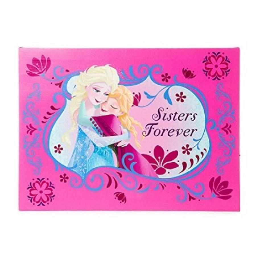 アナと雪の女王 おもちゃ フィギュア Claire's Accessories Disney Frozen Sisters Forever LED Light Up Wall Canvas 輸入品
