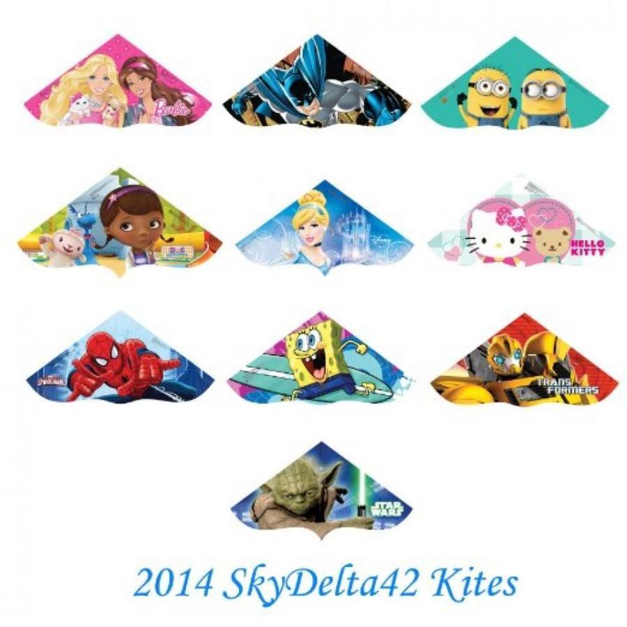 アナと雪の女王 おもちゃ フィギュア X-Kites SkyDelta 42 Inch Plastic Kites Assortment - Case of 24 (2014) 輸入品