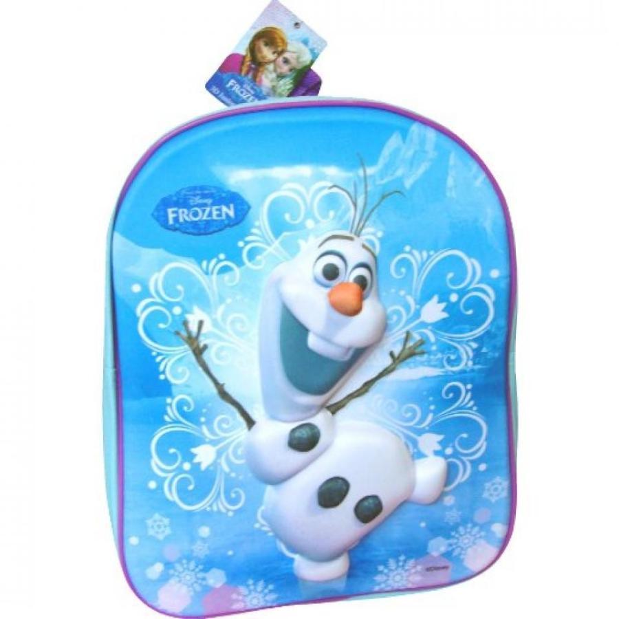アナと雪の女王 おもちゃ フィギュア Disney Frozen Olaf Magic 3D Travel Backpack School Bag 輸入品