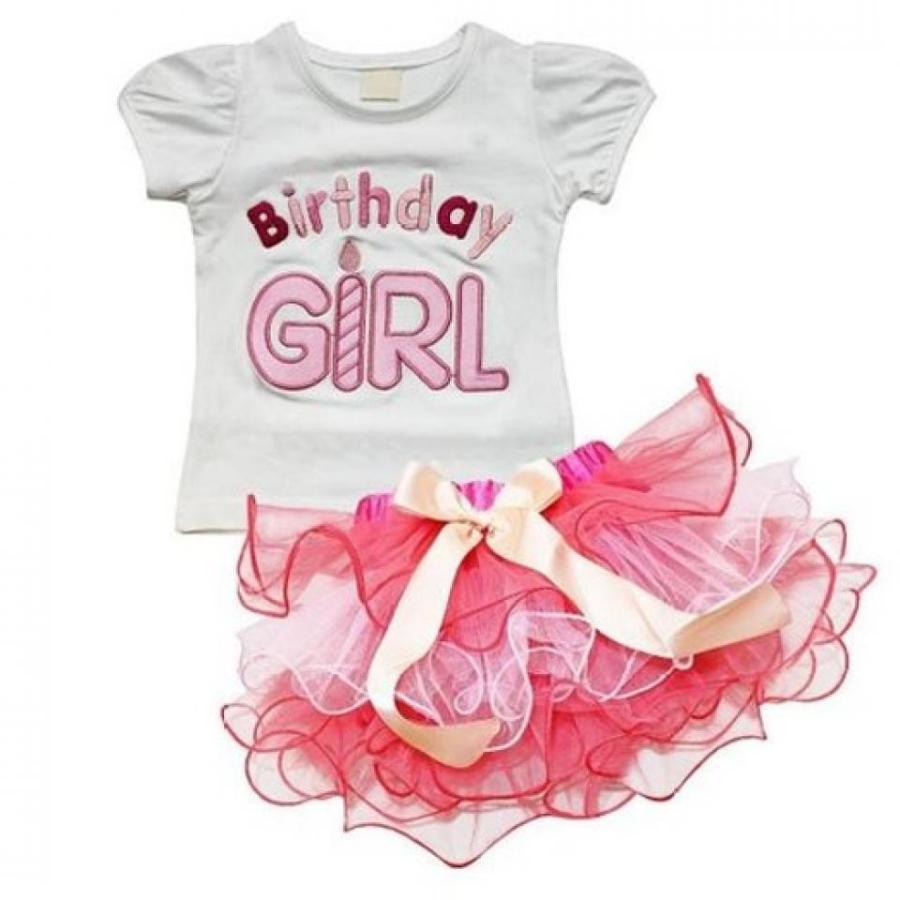 アナと雪の女王 おもちゃ フィギュア Rush Dance ピンク 3rd Birthday Girl 2 Piece Candle Top & Tulle Tutu Skirt Set 輸入品