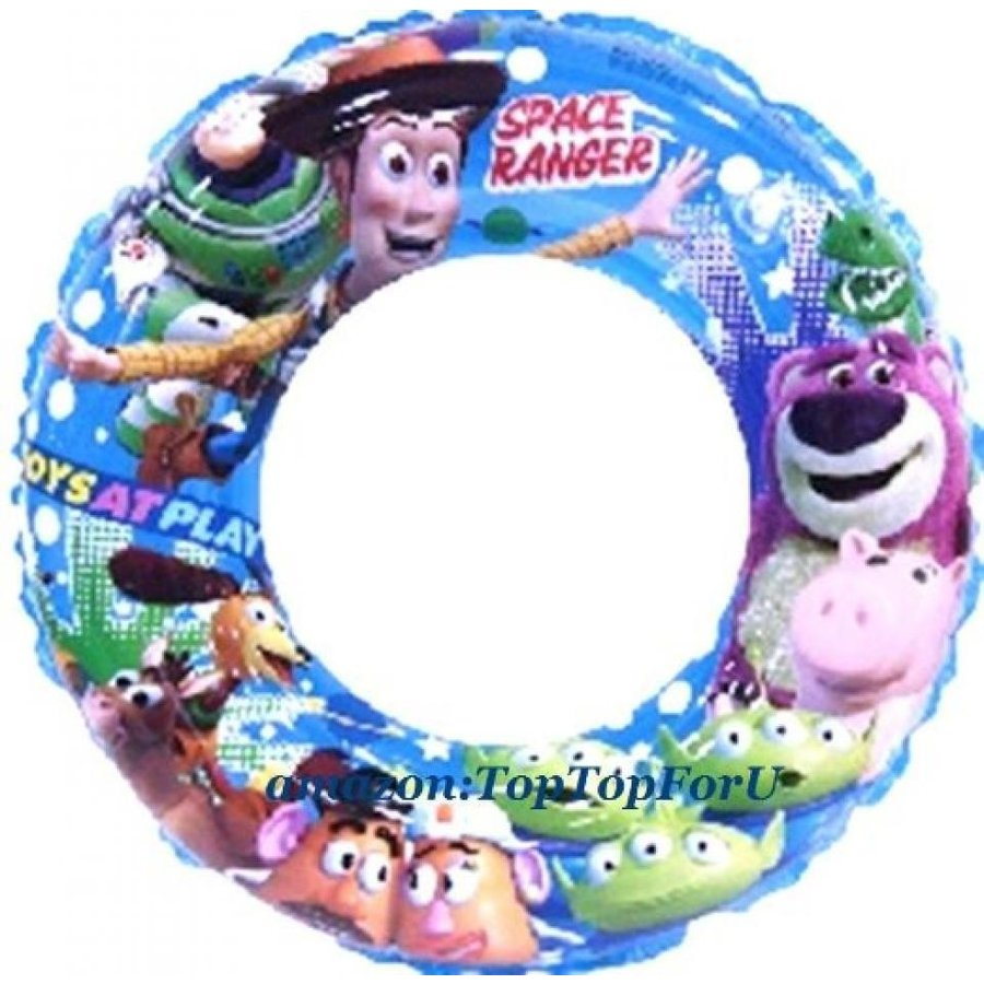 アナと雪の女王 おもちゃ フィギュア Authentic Disney Toy Story Inflatable Swimming Ring A (TopTopForU) 輸入品