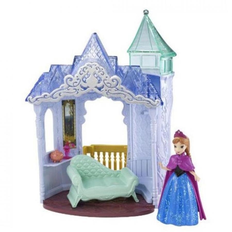 アナと雪の女王 おもちゃ フィギュア Disney Frozen Small Doll Anna Castle Playset 輸入品