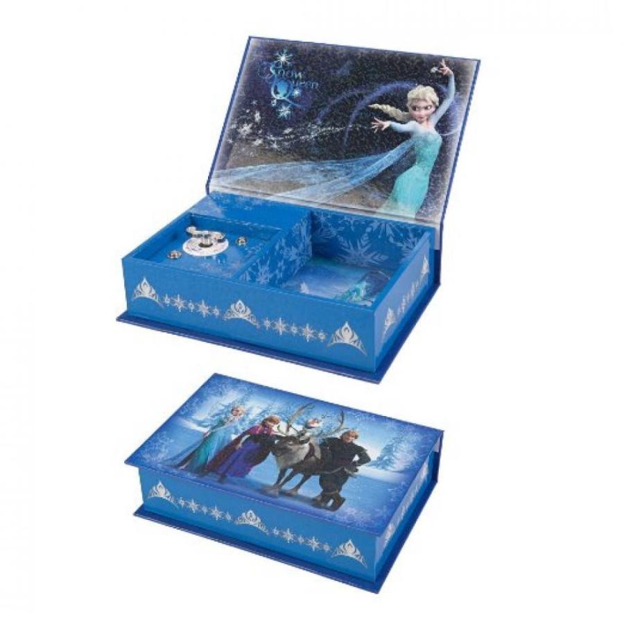 アナと雪の女王 おもちゃ フィギュア Disney Frozen Main Cast 青 Music Box 輸入品