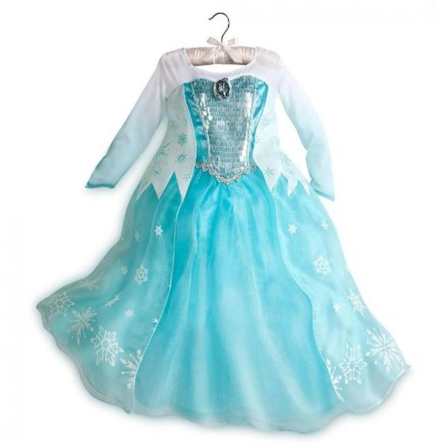 アナと雪の女王 おもちゃ フィギュア Disney Store Frozen Elsa Big Girl Costume Dress Size 7/8 輸入品
