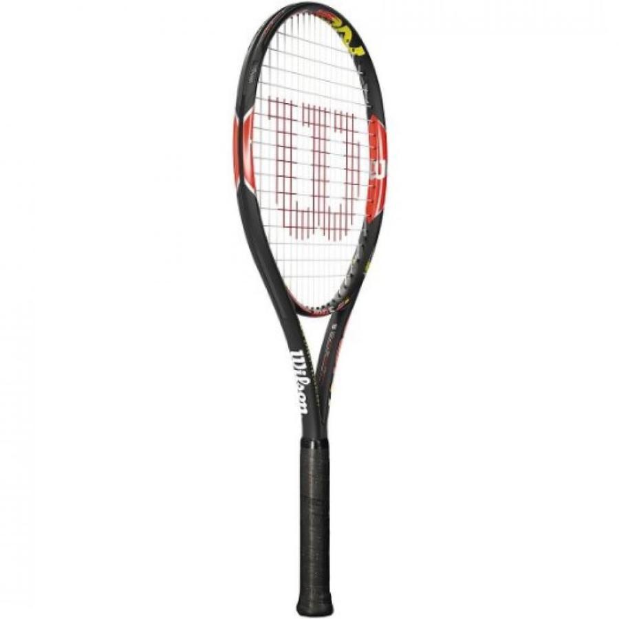 テニス ラケット New Racquet Wilson Adult Burn 100S Tennis Racquet 4 1/4 INCH (2)100 IN 輸入品