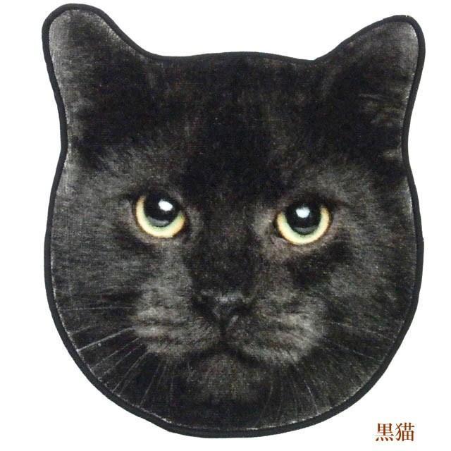 ハンカチ タオル 猫 ハンドタオル ミニタオル リアルモチーフ 猫顔 タオル ネコグッズ かわいい Heming's 猫グッズ 猫雑貨 ねこ雑貨|osyarehime|06