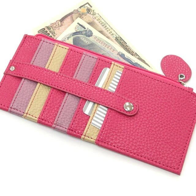 カードケース メール便送料無料 薄型 大容量 レディース メンズ スリム クレジットカード 長財布 セール おしゃれ かわいい osyarehime 02