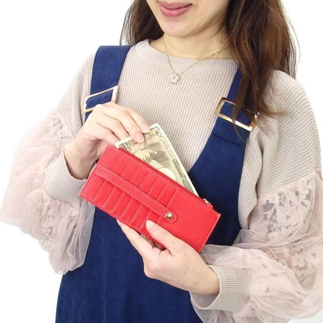 カードケース メール便送料無料 薄型 大容量 レディース メンズ スリム クレジットカード 長財布 セール おしゃれ かわいい osyarehime 04