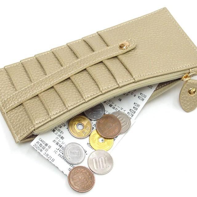 カードケース メール便送料無料 薄型 大容量 レディース メンズ スリム クレジットカード 長財布 セール おしゃれ かわいい osyarehime 05