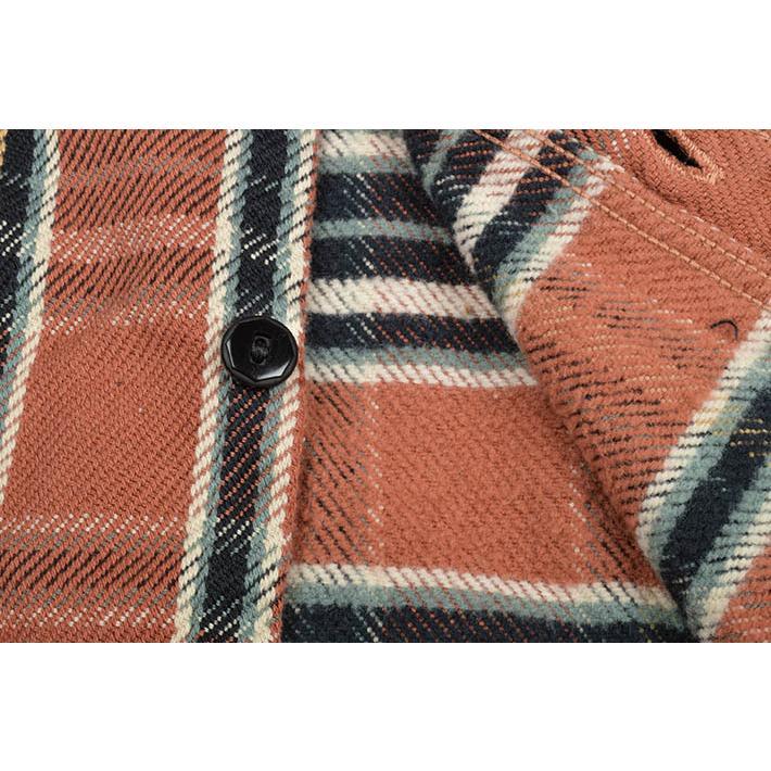 デラックスウエア(DELUXEWARE)ヘビーネルシャツ HV-41|ot-emens|12