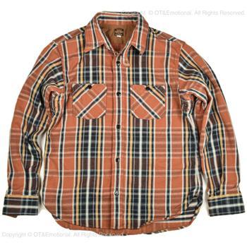 デラックスウエア(DELUXEWARE)ヘビーネルシャツ HV-41|ot-emens|13