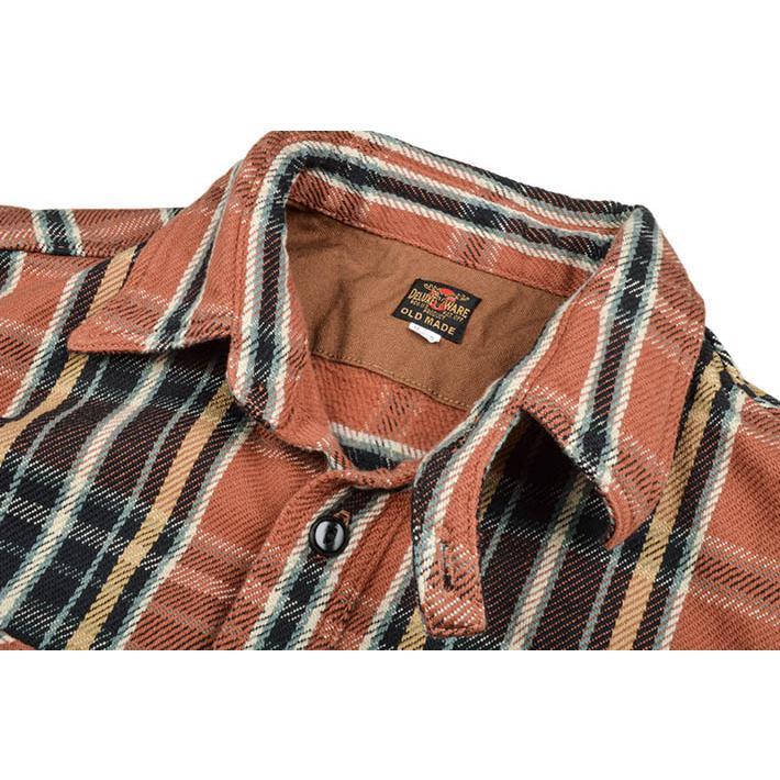 デラックスウエア(DELUXEWARE)ヘビーネルシャツ HV-41|ot-emens|06