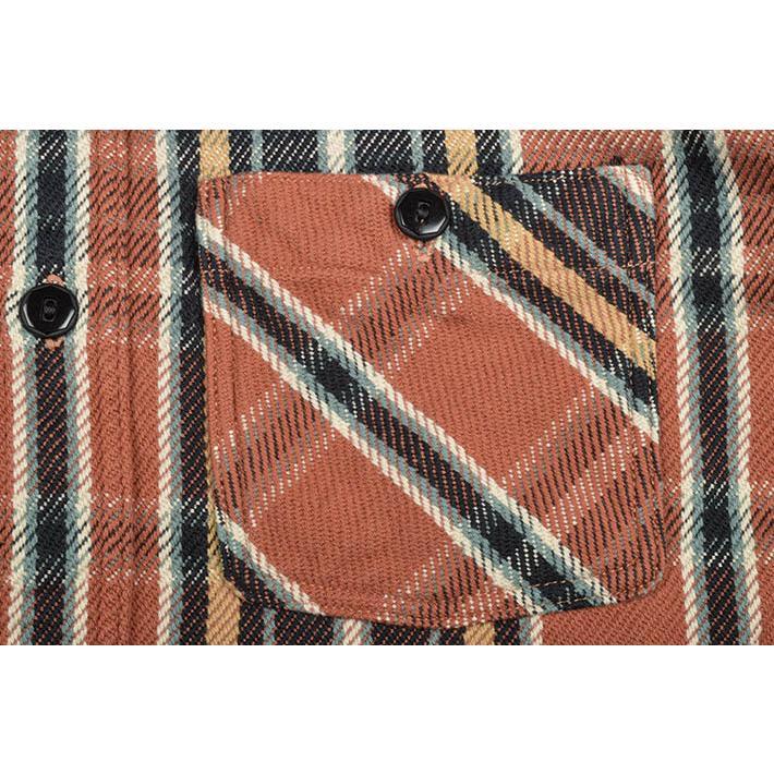 デラックスウエア(DELUXEWARE)ヘビーネルシャツ HV-41|ot-emens|07