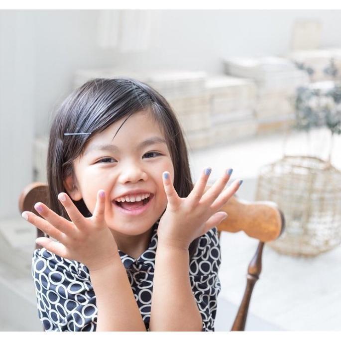 プレゼント付き!「 Otogi Nail オトギネイル 」 CINDERELLA (シンデレラ) 2色セット 子供ネイル キッズネイル|otoginail|04