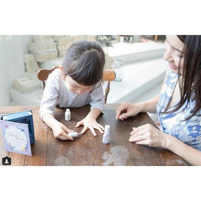 プレゼント付き!「 Otogi Nail オトギネイル 」 CINDERELLA (シンデレラ) 2色セット 子供ネイル キッズネイル|otoginail|05