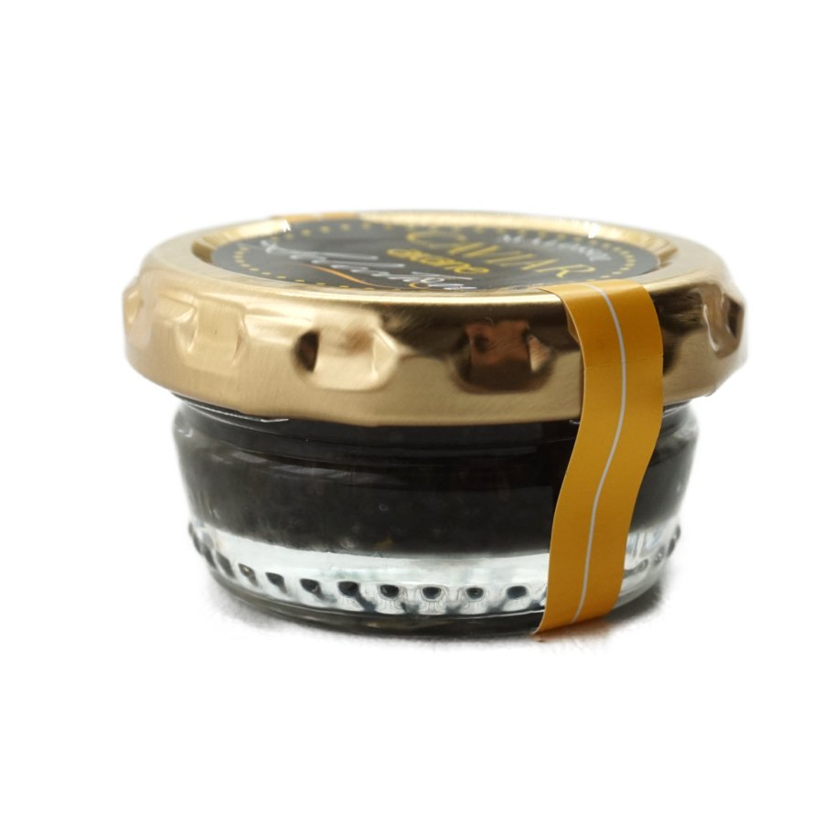 キャビア パスチュライズ 黒ラベル 18g瓶入り ヨーロッパ産|otokonodaidokoro|02