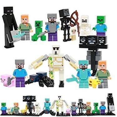 レゴ互換 マインクラフト風 ミニフィグ16体セット マイクラ風 お得 大人気 子供おもちゃ otokurasi