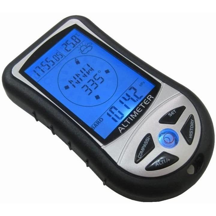 多機能 デジタル高度計 気圧計 温度計 日時 天気 コンパス 毎日激安特売で 営業中です 海外