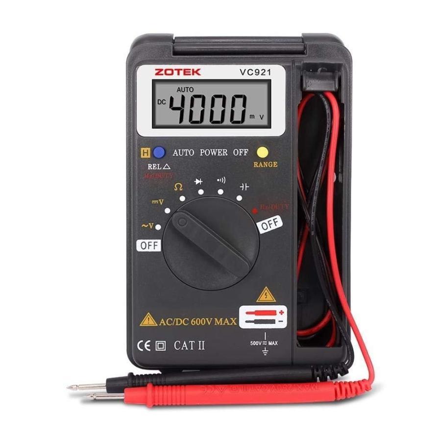 デジタル マルチメータ LCDディスプレイ 未使用品 電流 導通測定テスター 電圧 抵抗 至高 周波数