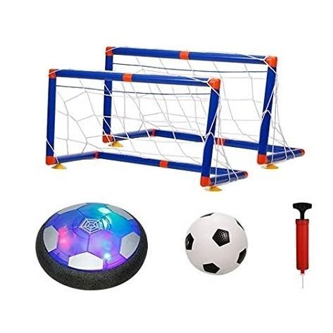 エアーサッカー ホバーサッカー 今ダケ送料無料 ゴール付き 充電式 室内ゲーム 在庫一掃売り切りセール ボールセット