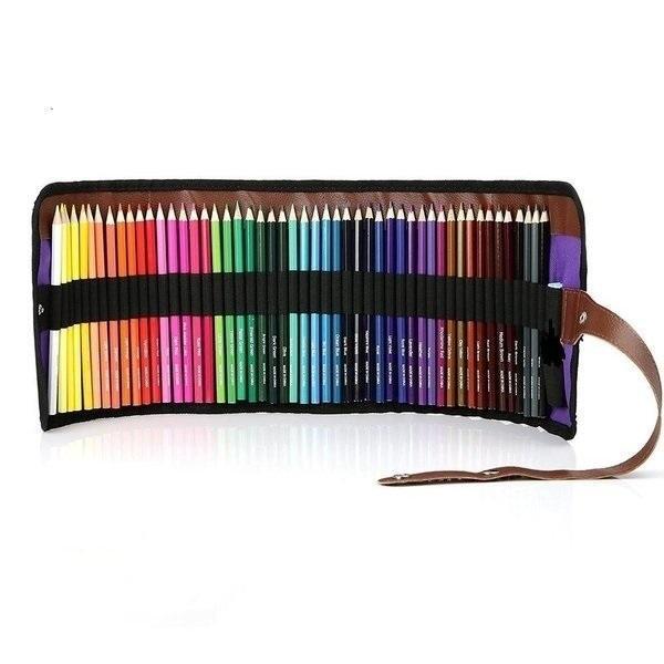 色鉛筆 50色セット 画材セット 鉛筆削り付き|otokurasi